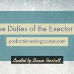 Duties of the executor