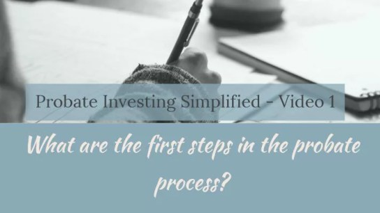 Probate investing