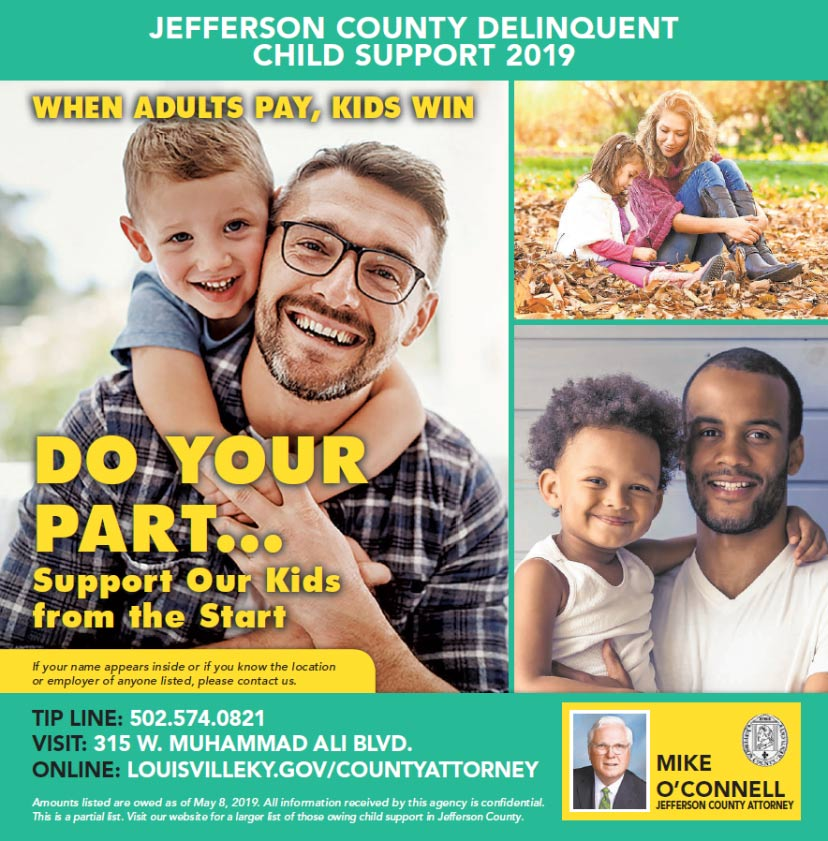 2019 delinquent child support list