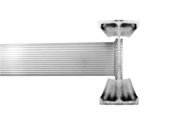 Louisville Ladder 12-foot Aluminum Straight Type Ii 225-pound Load Capacity Ae4112