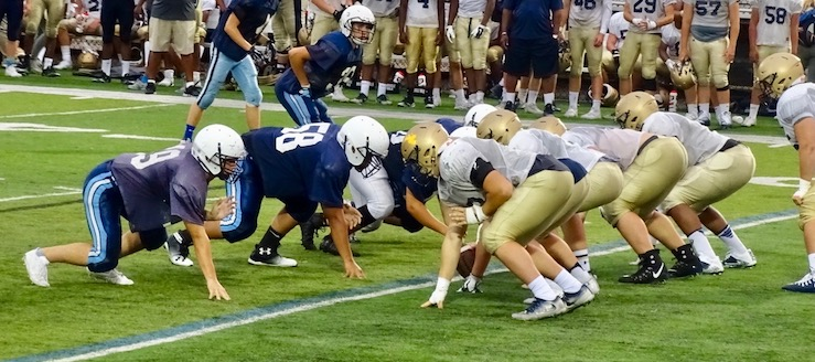 Akron Hoban 2017 Football