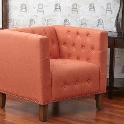 Tufted Accent Chairs Posture Balance Seat Zoe Chair Mango Louisville Overstock Warehouse Home