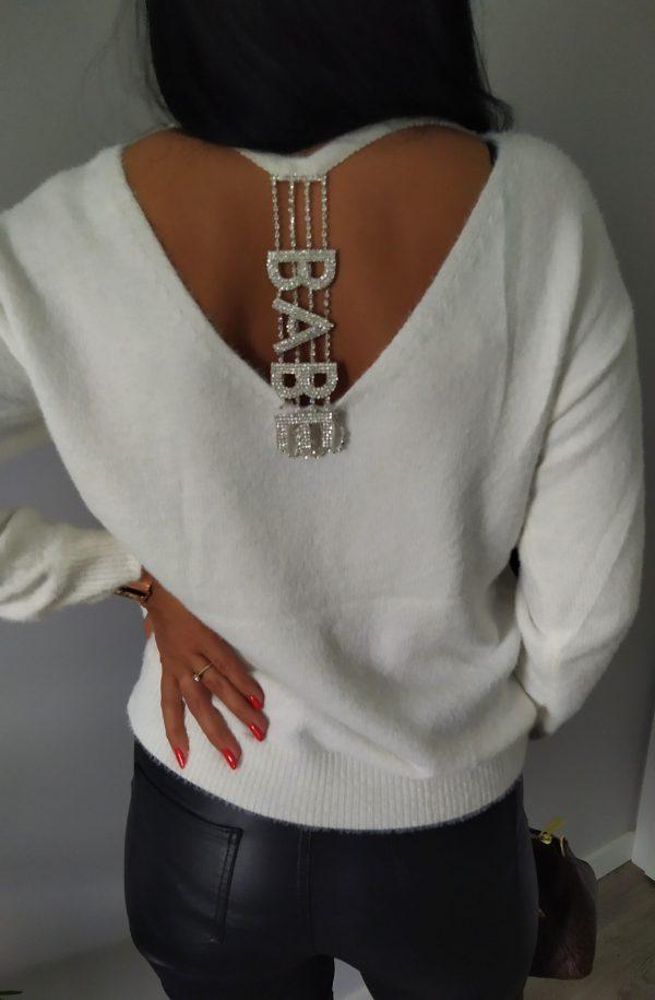 Sweterek BABE biały Lou Le Li