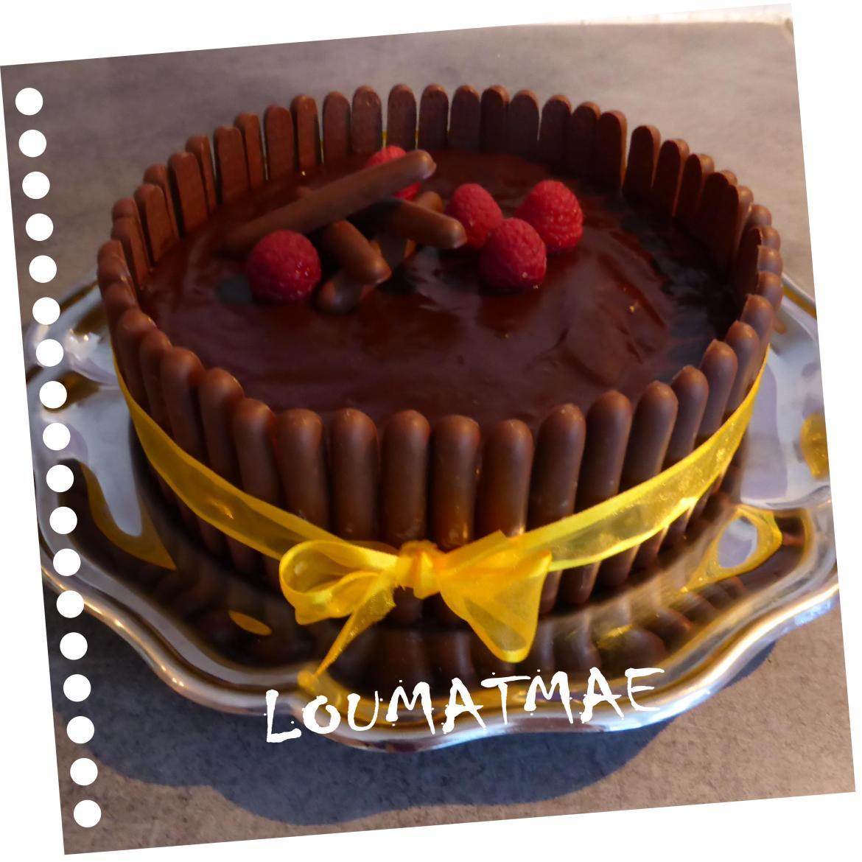 gâteau tonneau au chocolat