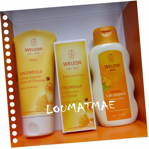 coffret 3 produits Weleda