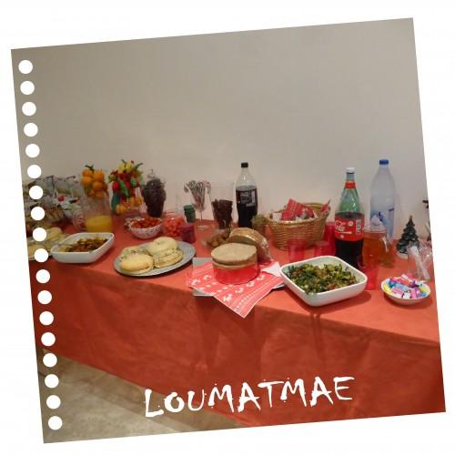 buffet chez Tosc'Anne Communication