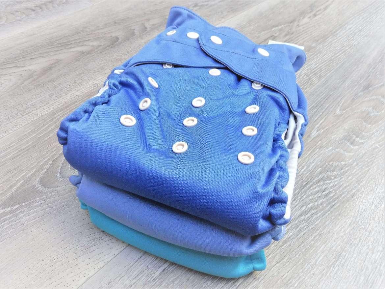 couche lavable te1 à poche B'bies bleue