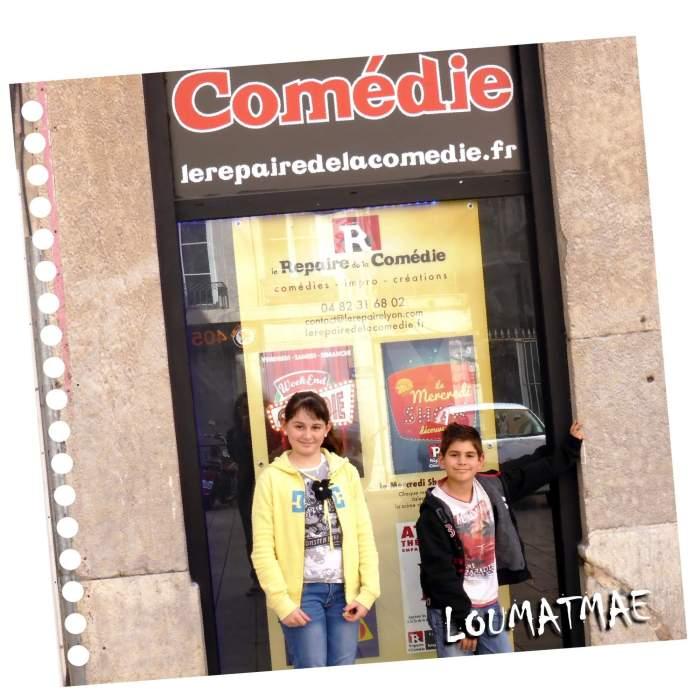théâtre de la comédie à Lyon