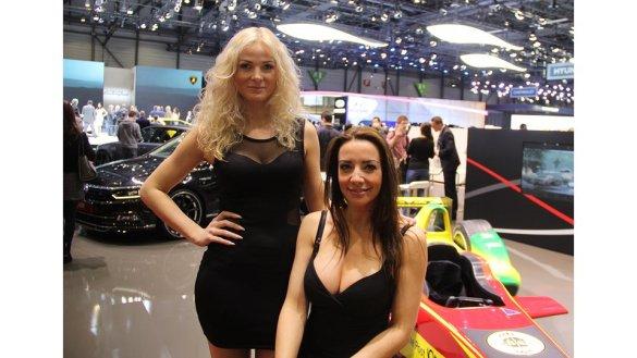 Hôtesses salon de l'auto en Suisse