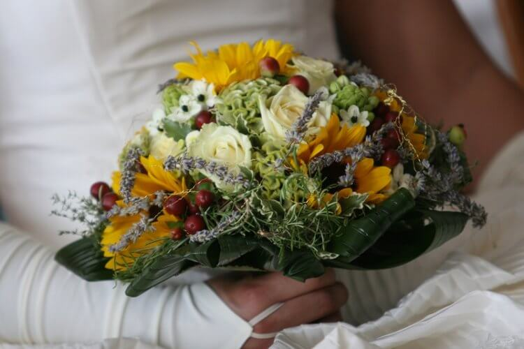 bouquet de mariage provençal