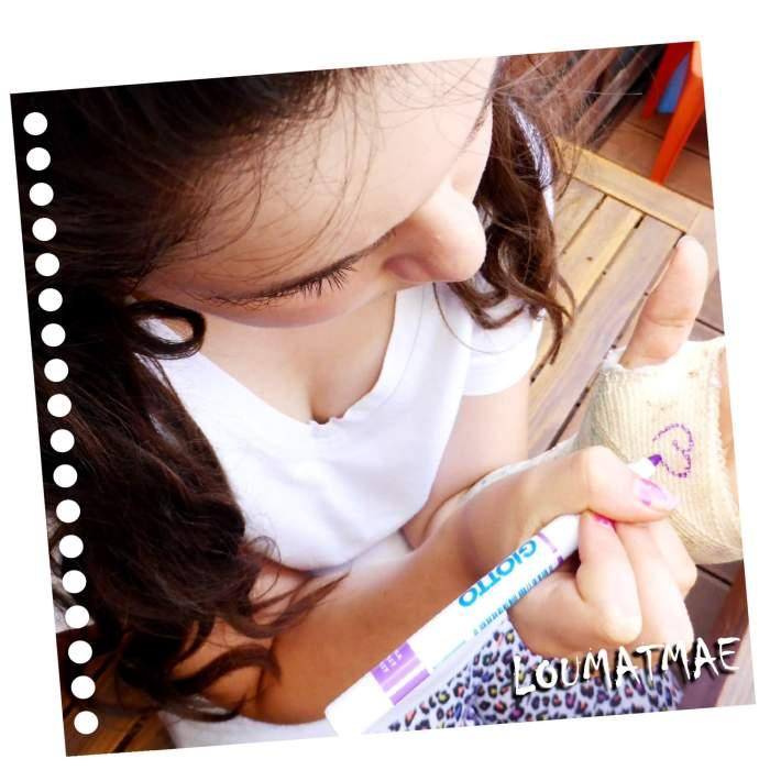 feutres pour dessiner sur le plâtre et la résine