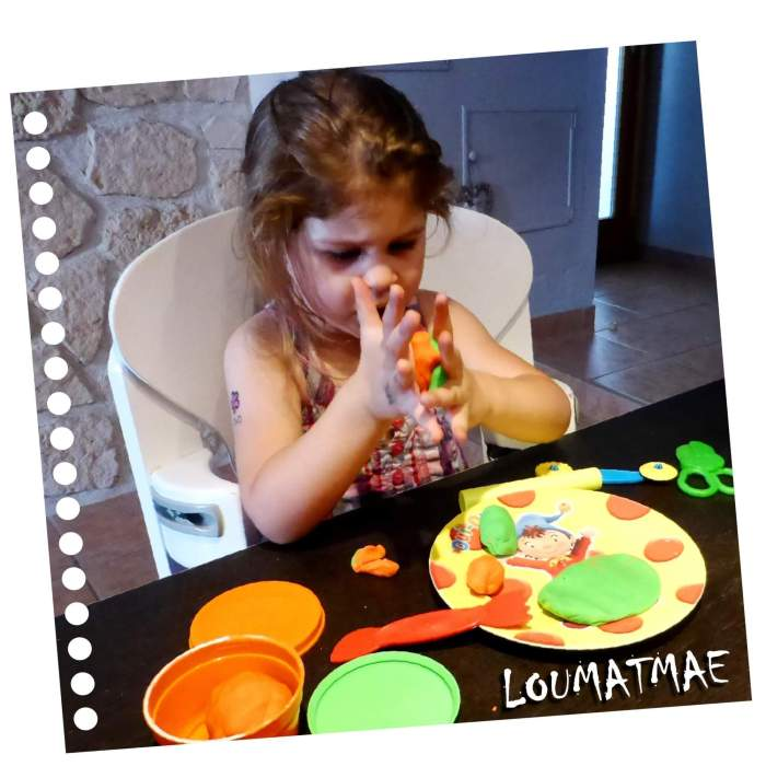 pâte à modeler Giotto pour les enfants