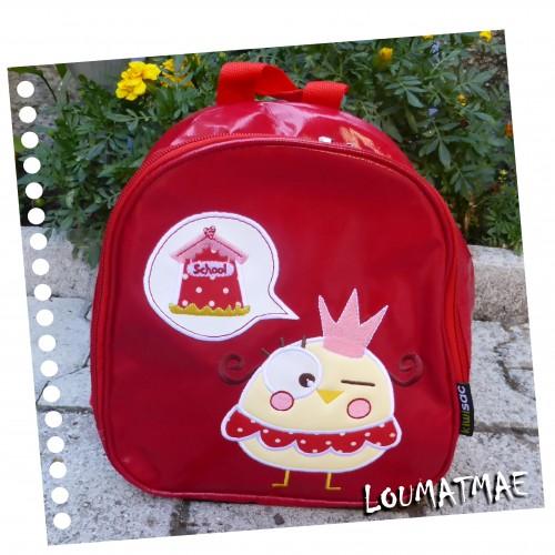 kiwisac sac à goûter maternelle