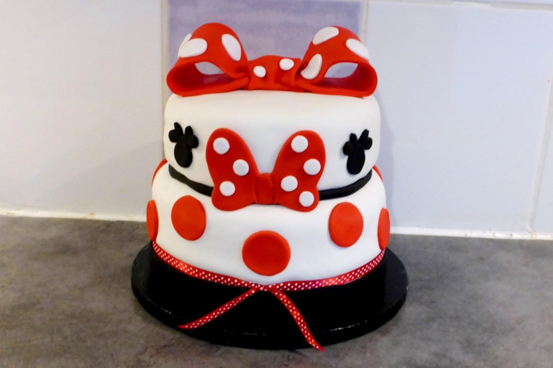 Gâteau Minnie Mouse 3 ans Maé