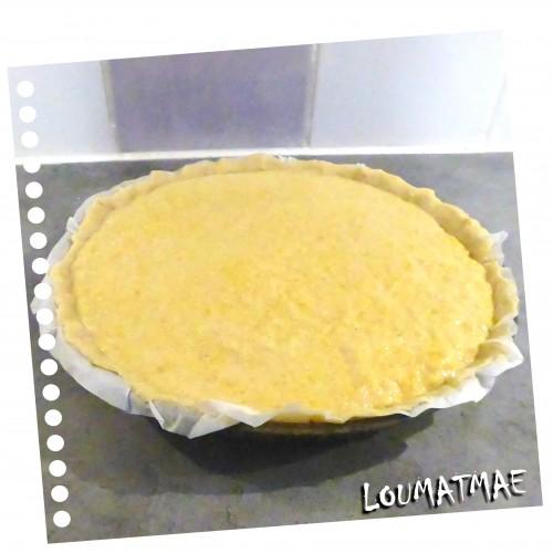 tarte à la citrouille sucrée