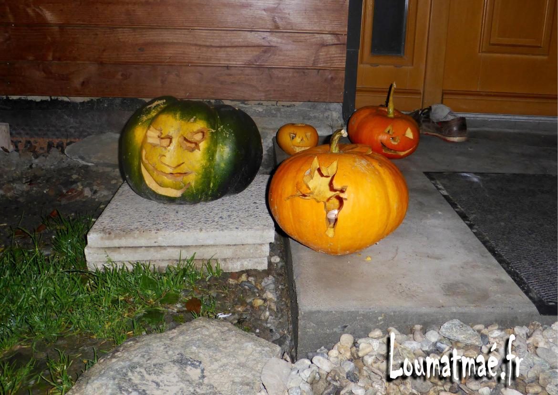 Citrouilles fée clochette Halloween