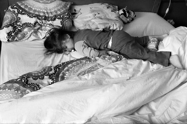 cododo avec son enfant de 3 ans