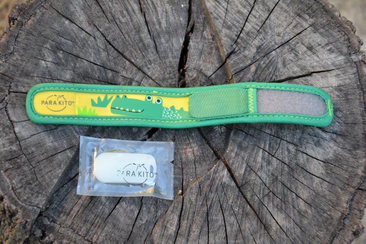bracelet enfant anti-moustiques et sa recharge