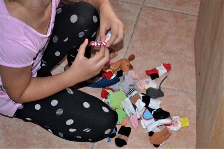 marionnettes à doigts pour enfants
