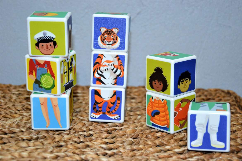 magicube geomag mix et match 9 cubes