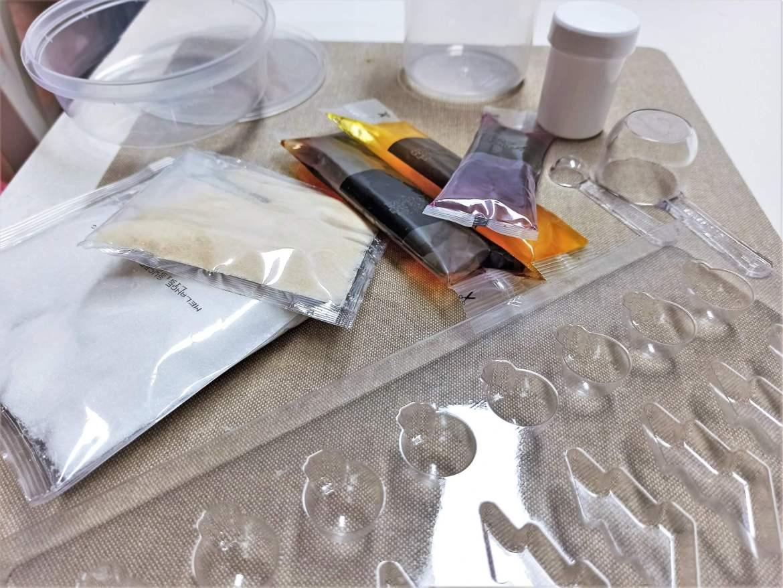 materiel de preparation des bonbons