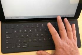 IMG_2140 iPad Pro Finger Reach Top