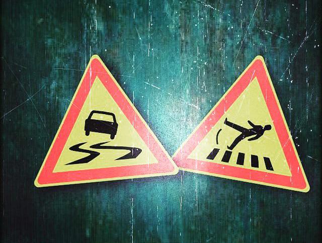 Ettevaatust: Homme on 13, reede ja teed on väga libedad!