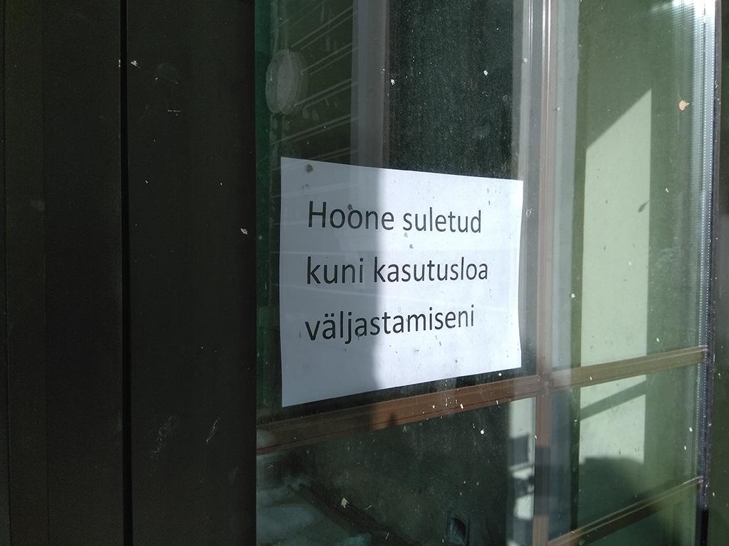 Vabariigi aastapäevaks valmima pidanud Vastseliina hooldekodu uksed kinni, vallavanem varjab infot