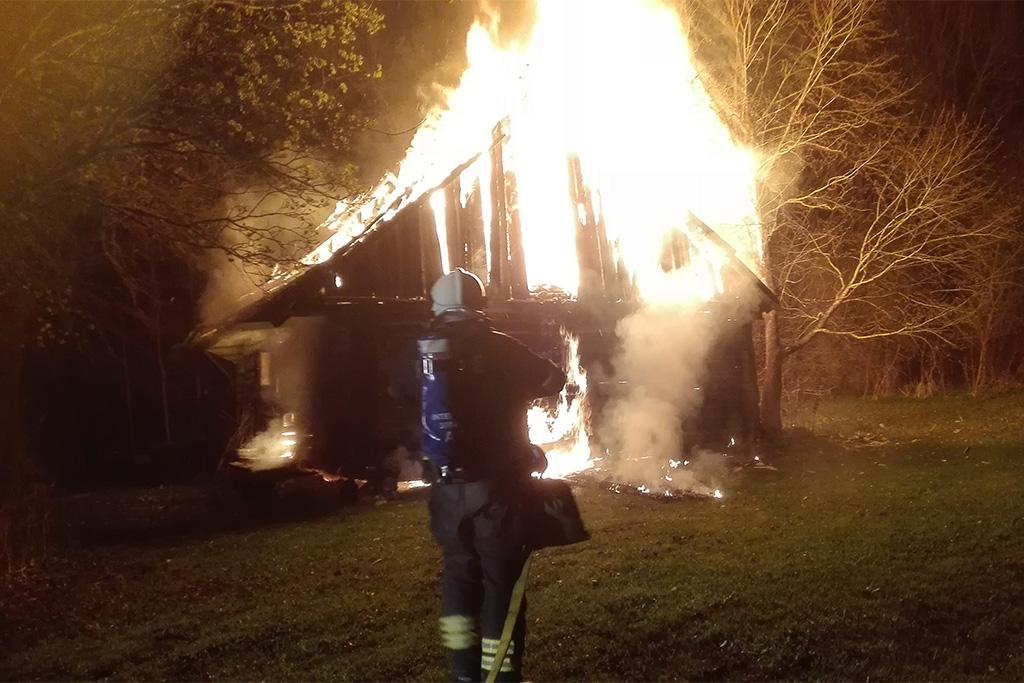 Põlvamaal põles nädalavahetusel kaks sauna