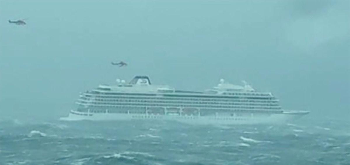 KUUM: Suur kruiisilaev on Norras merehädas, pardal 1300 inimest, algab evakueerimine