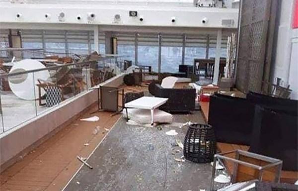 Pildid Norra kruiisilaeva sisemusest näitavad, mis olukord laeval valitses