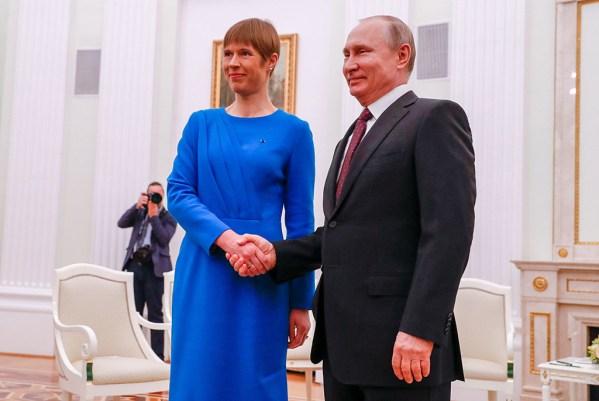 GALERII: Presidendid Kaljulaid ja Putin arutasid Moskvas kahe riigi omavahelisi suhteid