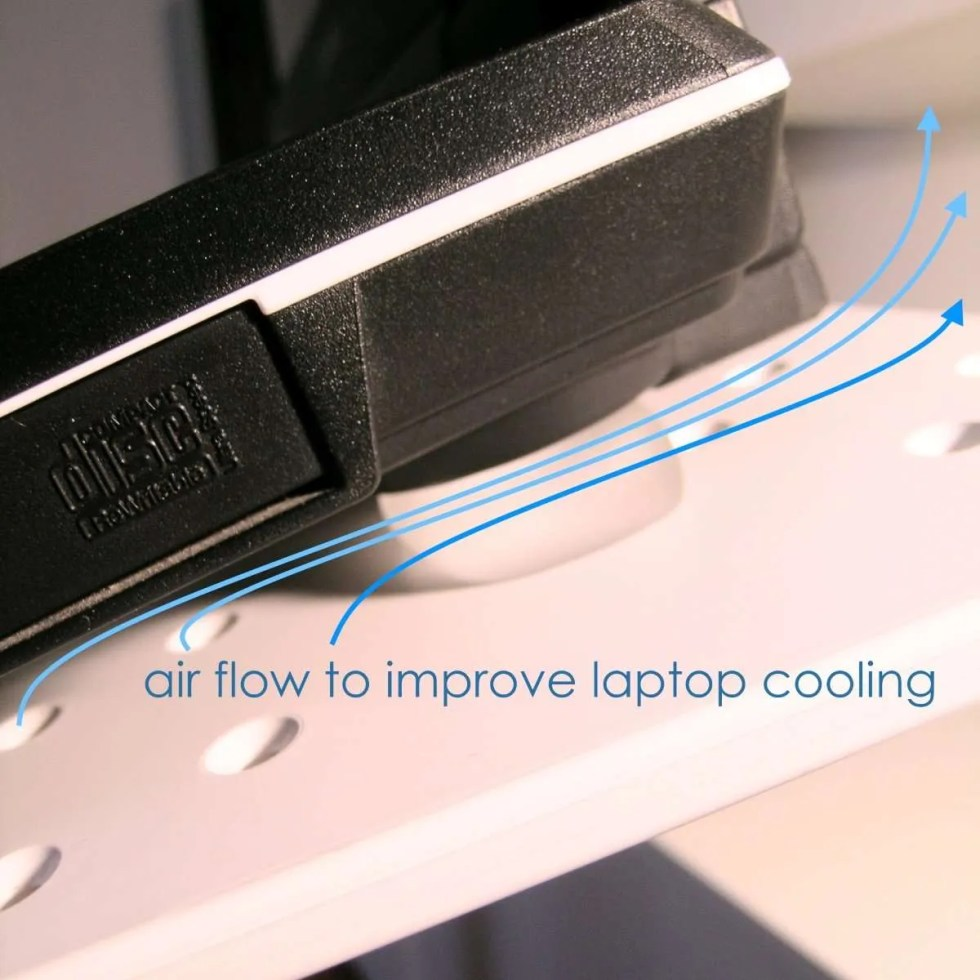 Coolfit improve cooling of laptops and notebook