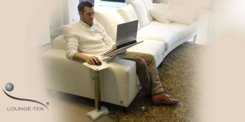 a laptop stand for sofa couch to use laptos and tablet