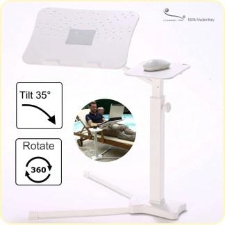 Il notebook stand regolabile ergonomico