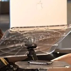 Supporto macbook e mousepad