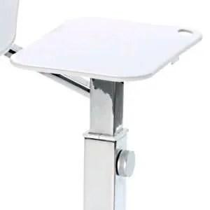 mouse pad chrome white