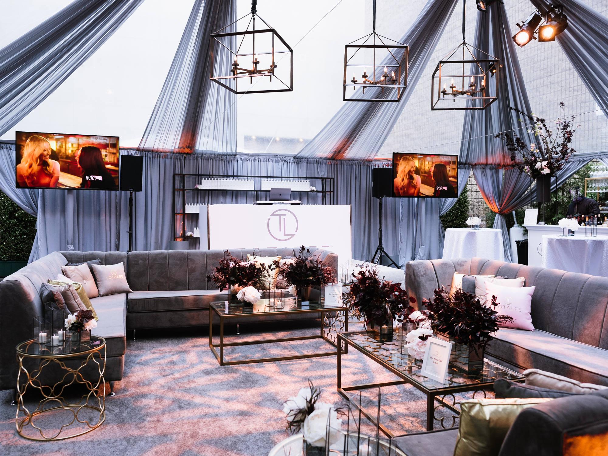 event furniture rental weddings