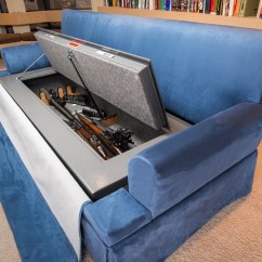 Sofa Gun Safe Traditional Set Images 10 Creative Secret Cabinets For Your Home The Truth