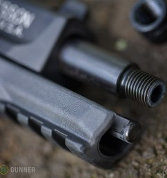 s w m p 22 compact threaded muzzle [ 1000 x 806 Pixel ]