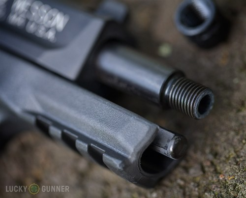 small resolution of s w m p 22 compact threaded muzzle
