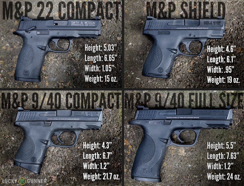 medium resolution of m p size comparison