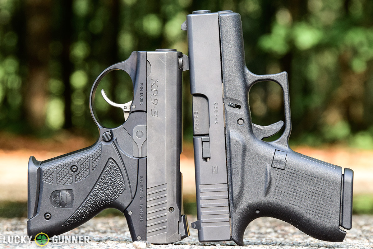 hight resolution of boberg xr9s vs glock 43