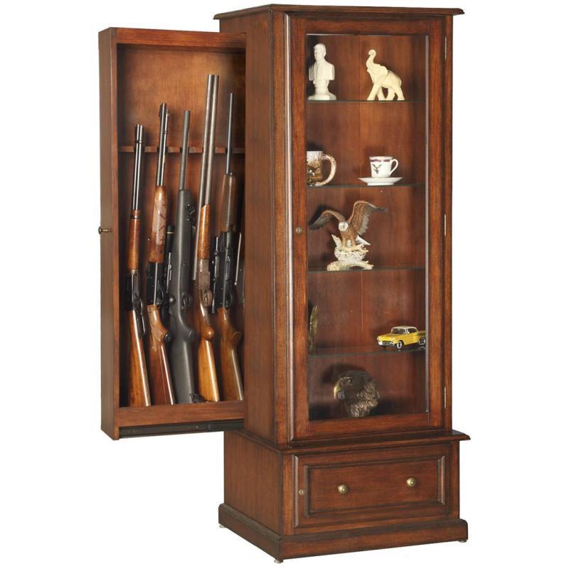 Hidden Gun Curio Cabinet