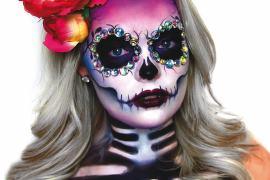 sugar skull Sugar Skull - najpopularniejszy motyw czaszki w makijażu 5
