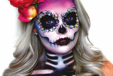 sugar skull Sugar Skull - najpopularniejszy motyw czaszki w makijażu 8