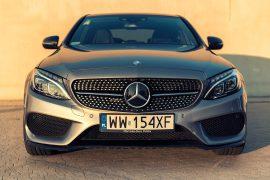 Mercedes C450 AMG Test Mercedes C450 AMG - lekko zakurzony mocarz 5