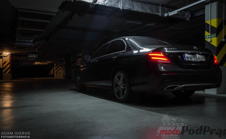 Mercedes Benz E220d 9G Testujemy: Mercedes Benz E220d 9G - Tronic 4