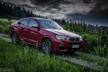 BMW X4 M40i – SUV z osiągami mocarnego hot-hatcha