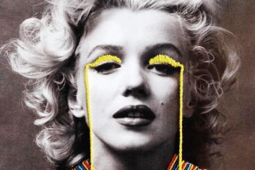 Igła wbita w Marilyn Monroe